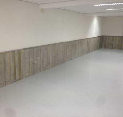Polyurethaan vloer gietvloer voor bedrijven