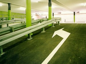 Coating floor car park