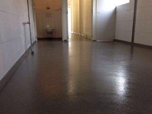 Coatings for sanitary facilities
