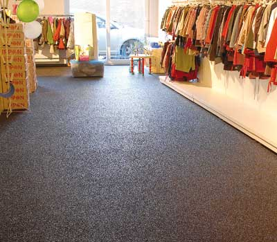 Coating systems for retail trade