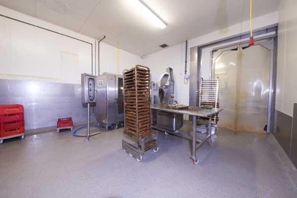 Troffelvloer in de voedingssector