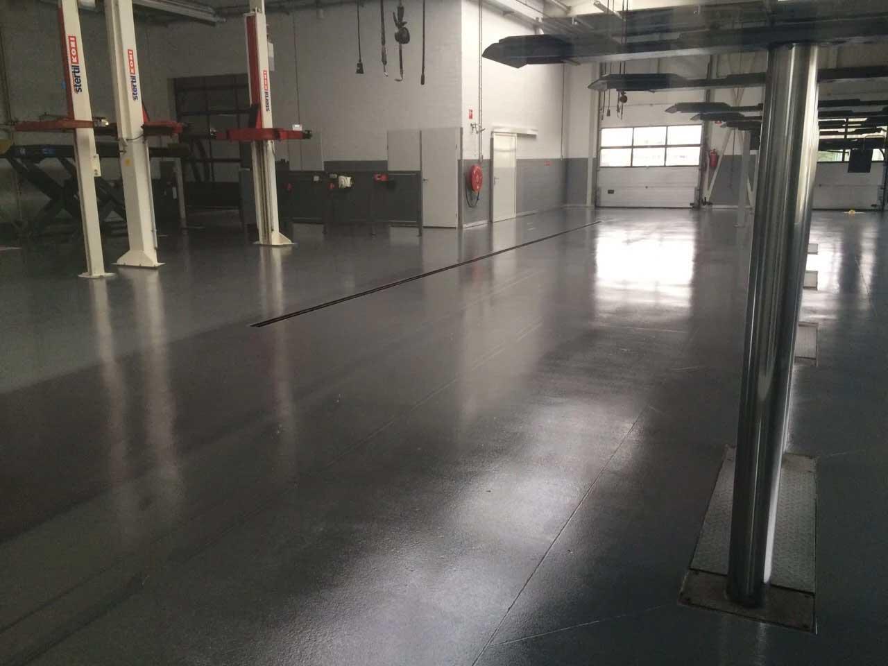 Werkplaats of garage vloer  of wandcoatings nodig? Mesa Coatings