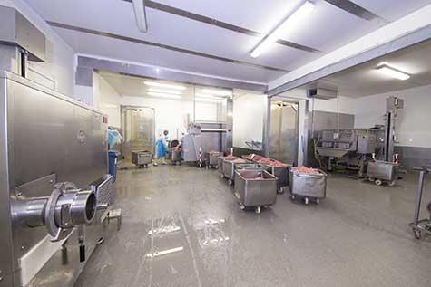 meat processing HACCP floor