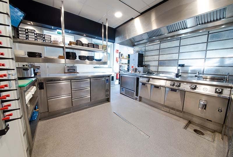 Coating professionele keuken