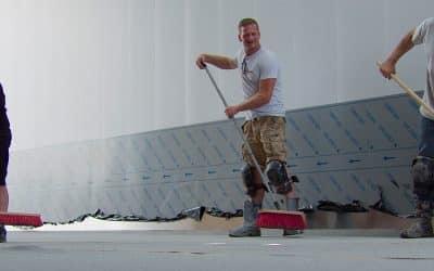Hoe wordt een Mesa Fast vloersysteem aangebracht?